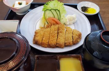 芙蓉豚カツ定食